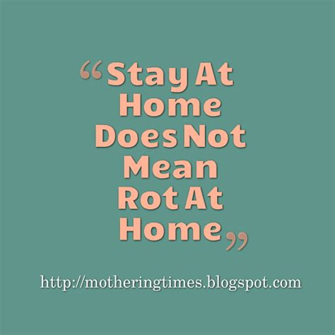 mothering times motivation for stay at home