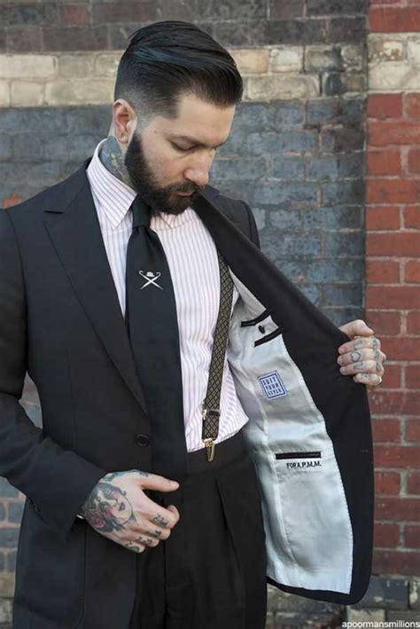 what hair styles suit braces suspenders braces time to embrace the brace men