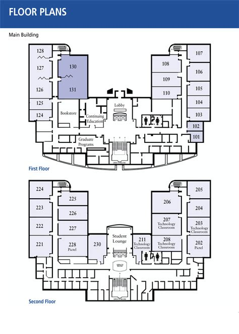 public building floor plans floor plans penn state great valley