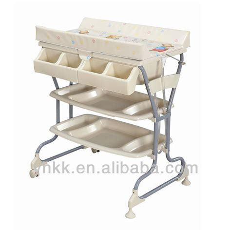 Baby Bath With Stand Buy Baby Changing Table With Tub Free Standing Baby Changing Table