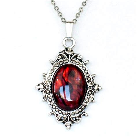 gothic noir vampire victorian style antiqued silver