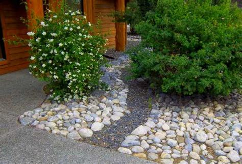 front yard rock landscaping ideas frontyard landscaping