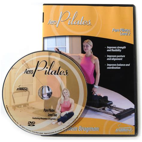 stamina 174 pilates 174 workout level two dvd with