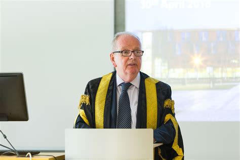 Of Limerick Mba by Of Limerick Professor Delivers His Inaugural
