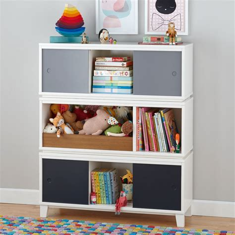 white bookcases the land of nod