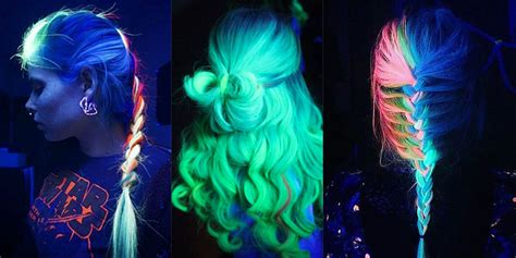 glow in the hair color glow in the hair is the mind blowing rainbow trend of