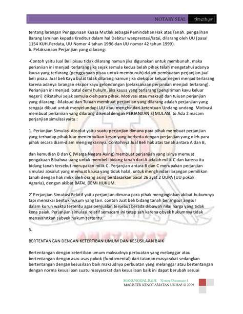 kebatalan dan degradasi akta notaris