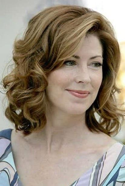 hair styles for the older woman with shoulder length hair mid length hairstyles for older women 2012 style