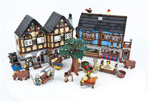 Lego 10193 Market rynek średniowieczny 10193 lego castle market