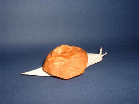 Origami Snail - origami molluscs page 1 of 2 gilad s origami page