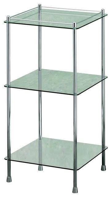 3 tier glass shelf bathroom essentials 3 tier glass shelf unit bathroom cabinets and