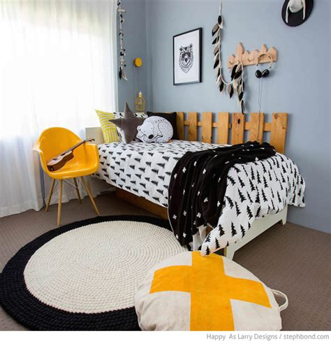 black and white and yellow bedroom bondville black white and yellow boy s bedroom 9 years