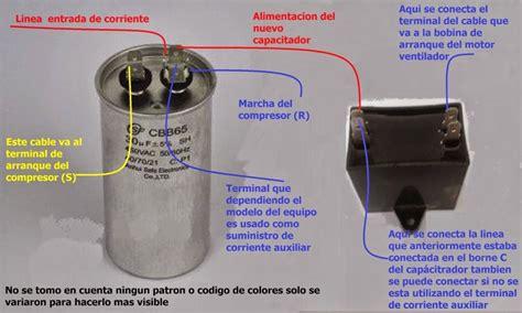que trabajo hace un capacitor cambiar capacitador doble por dos capacitadores
