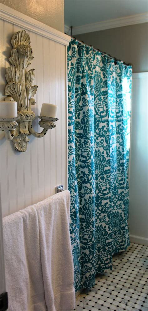 shower curtain as window treatment 52 best images about custom shower curtain on pinterest