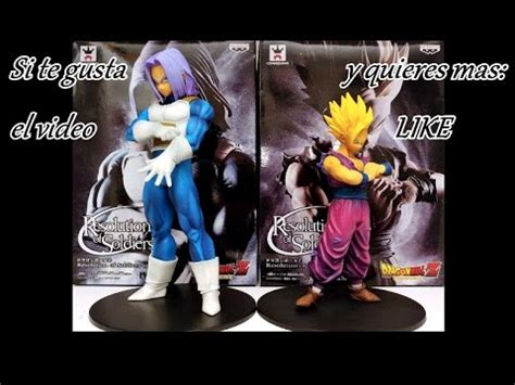 Resolution Of Soldiers Vol 5 Trunks resolution of soldier vol 4 y 5 unboxing y review gohan y trunks