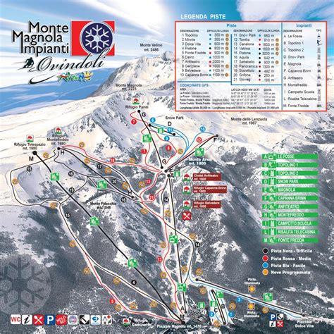 ovindoli magnola web ovindoli ski tour italia comprensorio monte magnola piste