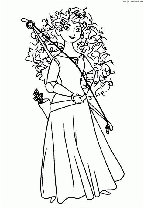 gratis libro e los bravos the brave para descargar ahora dibujos sin colorear dibujos de m 233 rida brave princesa para colorear