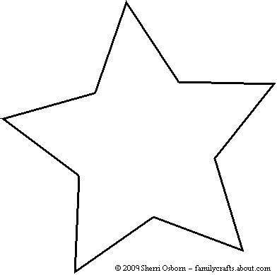 printable star outline this years most beautiful paper christmas ornaments and