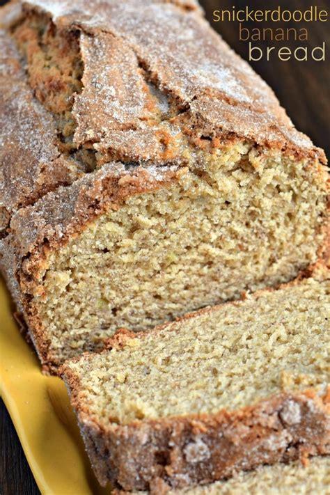 food doodle bread snickerdoodle banana bread recipe bread recipes