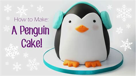 How To Make A 3d Penguin Out Of Paper - how to make a penguin cake