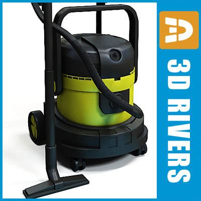Success 2088 Turbo Vacuum Cleaner Blower 3d model vacuum cleaner 02
