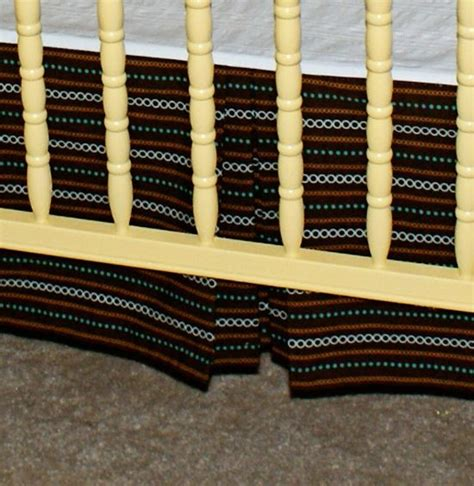 Pleated Crib Skirt Tutorial by Crib Skirts Cribs And Crib Skirt Tutorial On