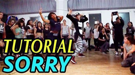 tutorial dance justin bieber justin bieber quot sorry quot dance tutorial mattsteffanina