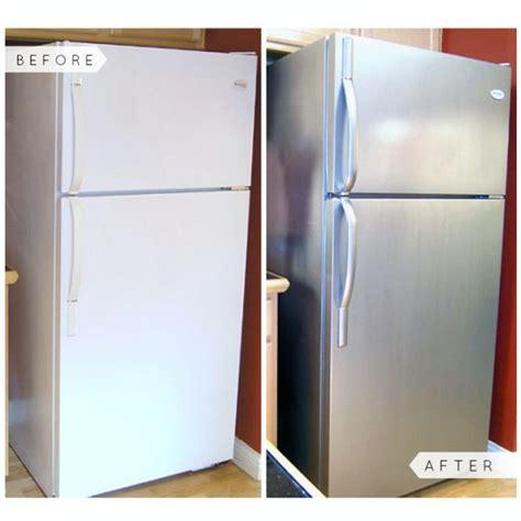 liquid stainless steel refrigerator kit