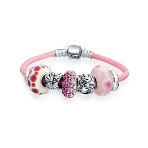sterling silver charm bracelet pandora