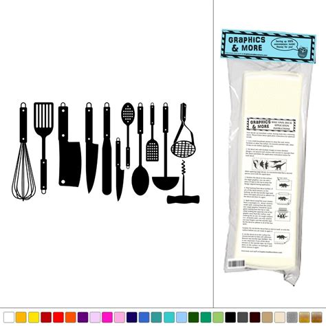 Wallsticker Classic Kitchen Tools Sk31004 21 collection of utensil wall wall ideas