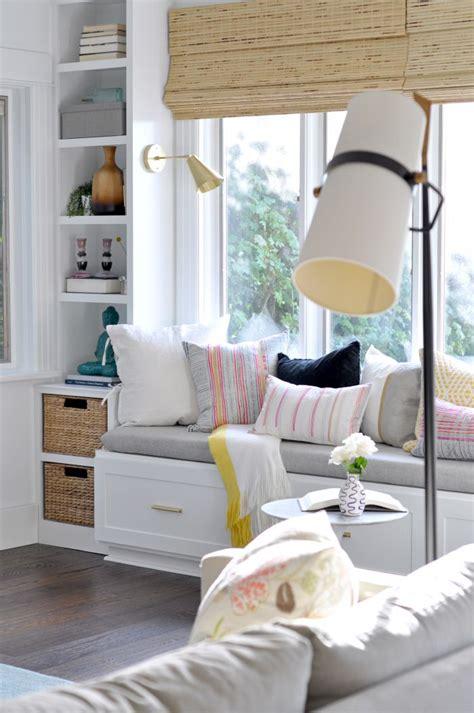 window seat in living room diy window seat living room modern ls sconces home basket shelves window and