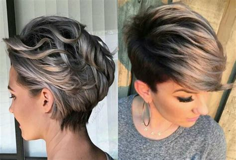 pixie blonde hair with brown low lights vivacious short pixie haircuts with highlights hairdrome com