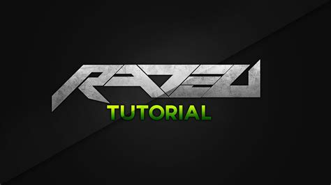 tutorial logo text rated designs tutorial creating a basic text logo concept