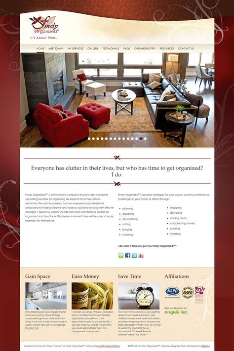 Professional Organizer Website Design Professional Organizer Website Templates