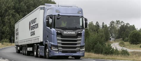 scania s new truck generation fuel efficiency reaching