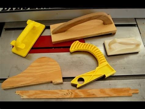 woodworking   work safe  push sticks youtube