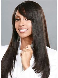 fairy wigs african american wigs shining long straight black african american wigs for