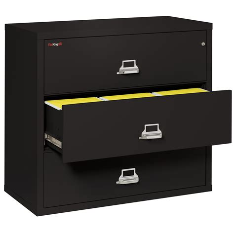 Lateral Drawer File Cabinet Fireking 3 Drawer Lateral File Cabinet Wayfair Supply
