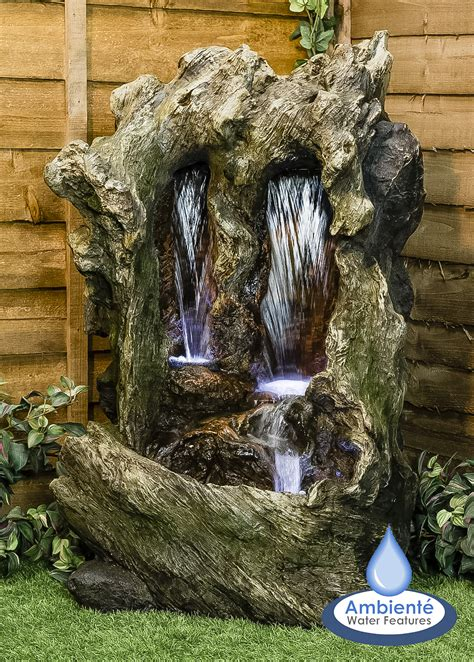 hcm colorado falls cascading water feature  lights