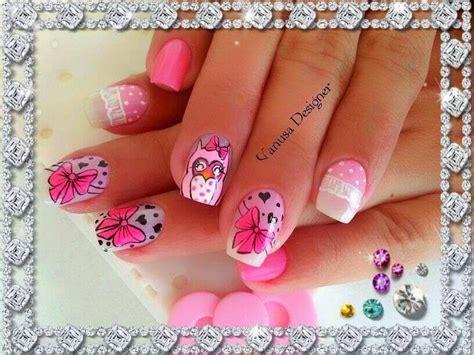 imagenes de uñas decoradas gratis para descargar u 241 as decoradas hermosas para ni 241 as buscar con google