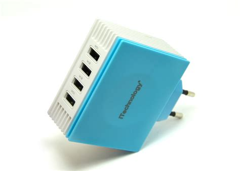 Usb Charger Only Europe Socket Model A1265 aliexpress buy itechnology 4 2a europe travel usb charger with 4 usb port ac charger