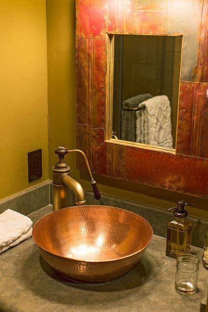 taylor house interiors santa barbara cabin influenced man cave rustic bathroom santa barbara by taylor house interiors