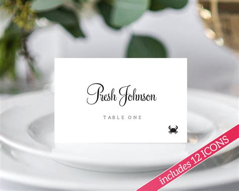 place card wikipedia diy place cards wedding template diy wiki
