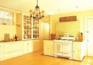 kitchen color yellow the color schemes info home and