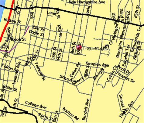 troy usa map troy ny map troy new york usa map