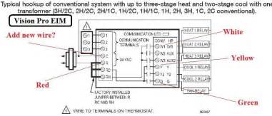 thermostat wiring question terry plumbing remodel diy professional forum