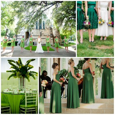 Wedding Theme Idea Green Wedding by Wedding In Green Design From A To Z