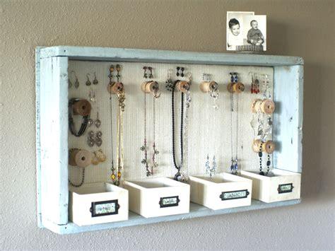 Jewelry Shelf Organizer by 23 Jewelry Display Diys Sincerely Yours