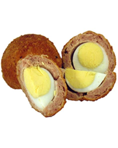 Handmade Scotch Eggs - handmade scotch eggs classic scotch egg 150g green