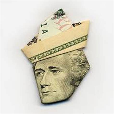 Money Origami - ways to fold money as gifts